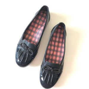 LL Bean Patient Leather Skimmer Rain Shoes